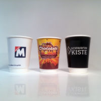 Branded Double Wall Paper Cups