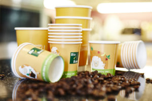 printed paper cups for exhibitions